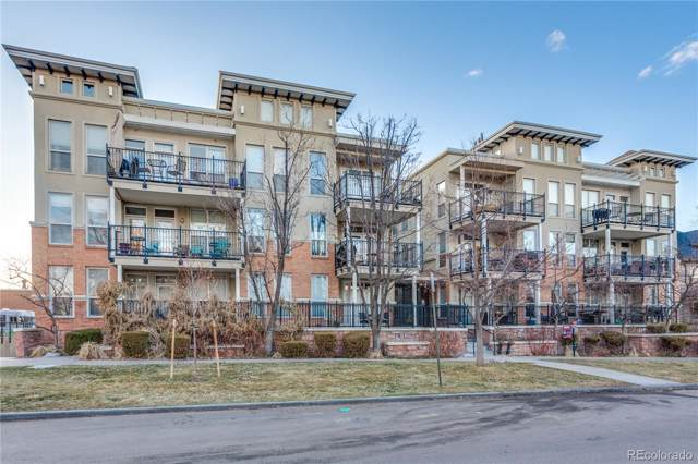 1521 Vine Street #106, Denver, CO 80206 (#4500642) :: The DeGrood Team