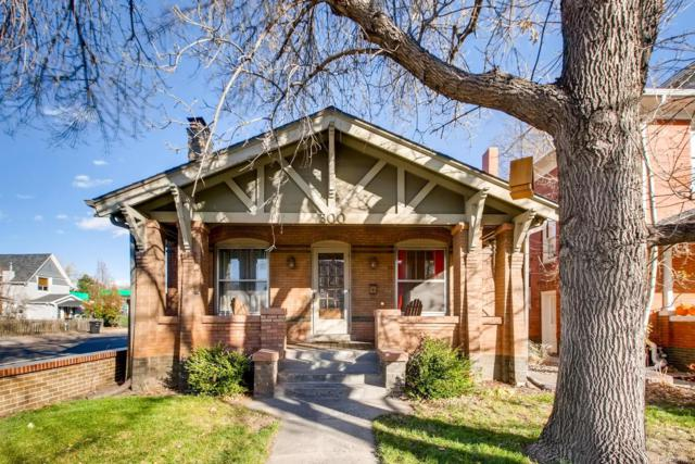 300 S Corona Street, Denver, CO 80209 (#4500693) :: My Home Team