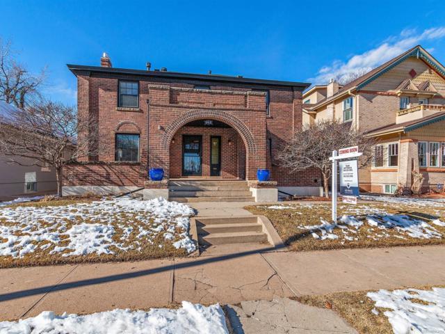 945 S Downing Street, Denver, CO 80209 (MLS #4503159) :: The Biller Ringenberg Group