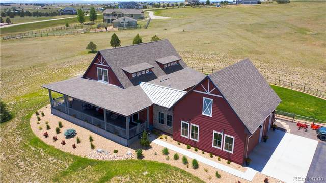 33255 Ridgeview Loop, Elizabeth, CO 80107 (#4506330) :: The HomeSmiths Team - Keller Williams