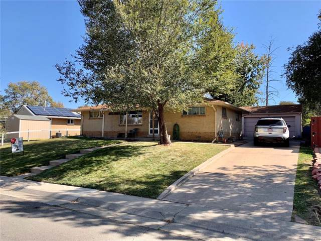 2520 W Gunnison Drive, Denver, CO 80219 (MLS #4507300) :: 8z Real Estate