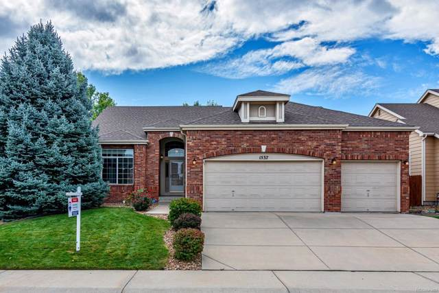 1537 Goshawk Drive, Longmont, CO 80504 (#4508121) :: Mile High Luxury Real Estate