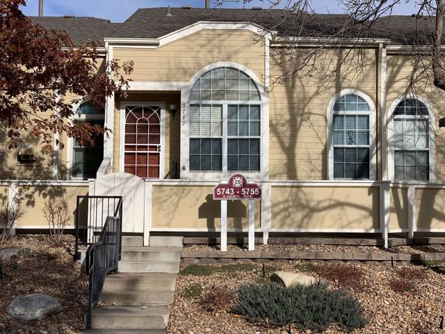 5747 W Asbury Place, Lakewood, CO 80227 (#4510924) :: The DeGrood Team