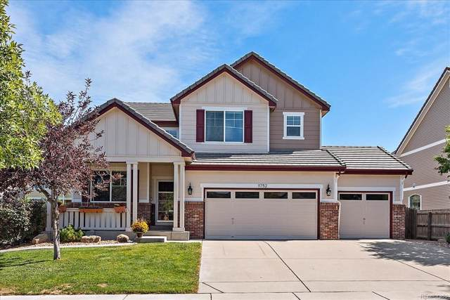 11752 Chambers Drive, Commerce City, CO 80022 (#4510968) :: The Peak Properties Group