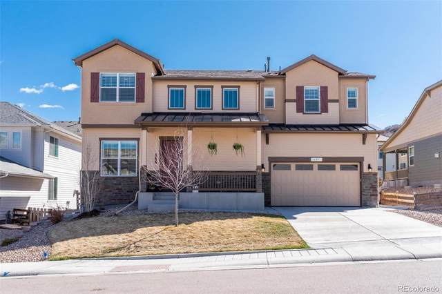 607 Sage Grouse Circle, Castle Rock, CO 80109 (#4511192) :: The Harling Team @ Homesmart Realty Group
