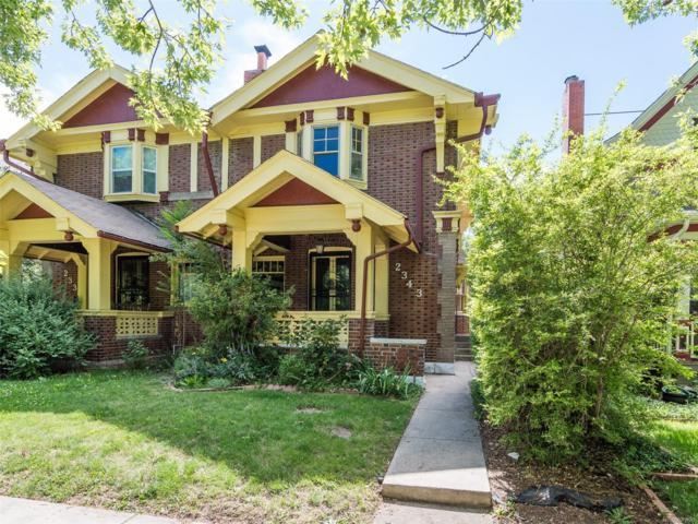 2343 N High Street, Denver, CO 80205 (MLS #4513014) :: 8z Real Estate