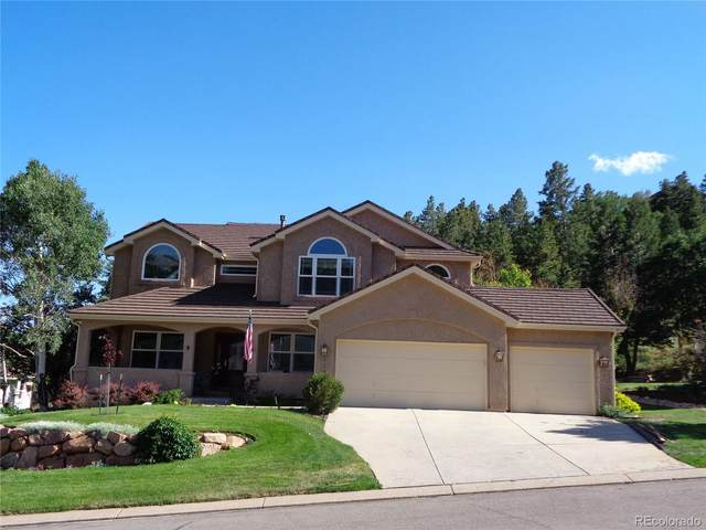 3380 Blodgett Drive, Colorado Springs, CO 80919 (MLS #4513145) :: Kittle Real Estate