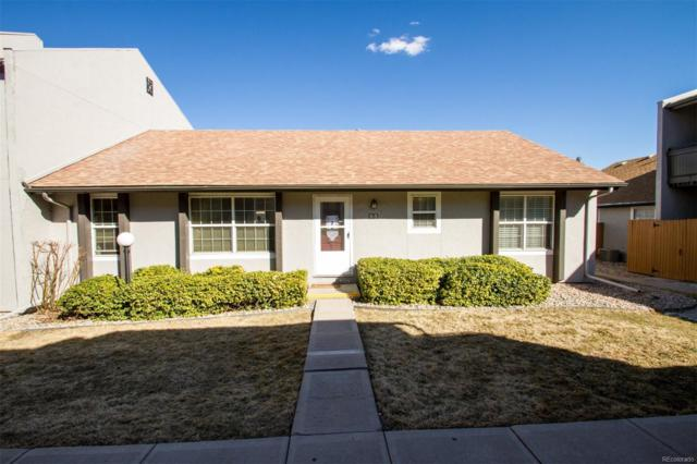 2301 E Fremont Avenue X05, Centennial, CO 80122 (#4513978) :: James Crocker Team