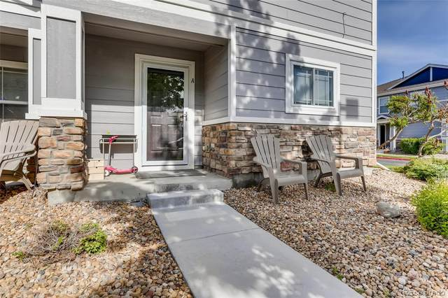 17224 Lark Water Lane A, Parker, CO 80134 (#4515661) :: The Griffith Home Team