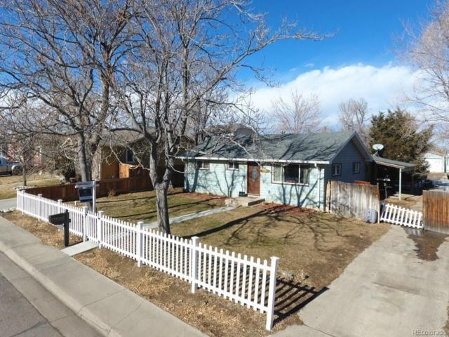 2357 W Wesley Avenue, Englewood, CO 80110 (#4518420) :: The Dixon Group
