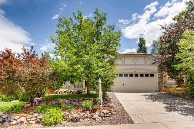 3337 Blue Grass Circle, Castle Rock, CO 80109 (#4518843) :: The DeGrood Team