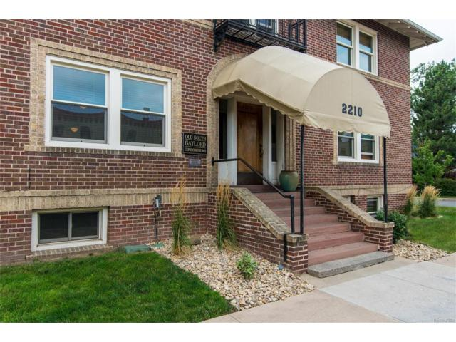 2210 E Mississippi Avenue #3, Denver, CO 80210 (#4520750) :: Thrive Real Estate Group
