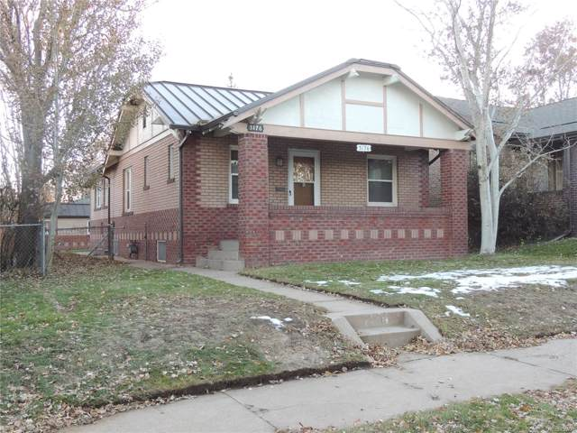 3176 W 36th Avenue, Denver, CO 80211 (#4520804) :: HomeSmart Realty Group