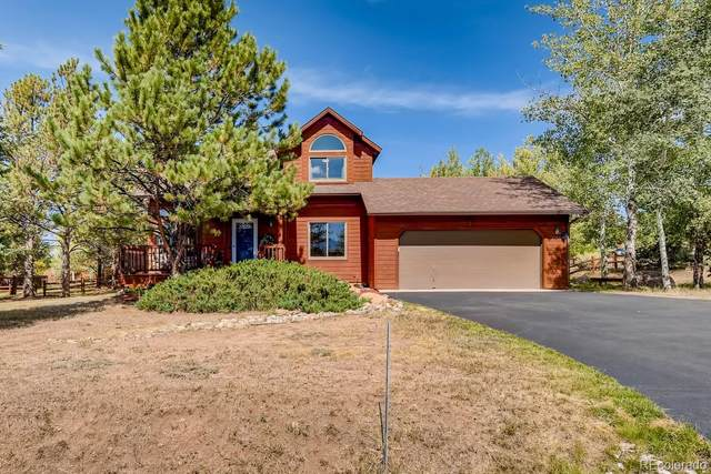 2150 Valley View Drive, Woodland Park, CO 80863 (#4522418) :: Finch & Gable Real Estate Co.