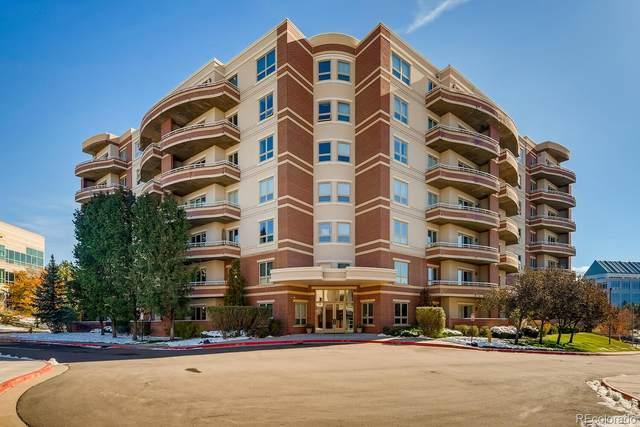 4875 S Monaco Street #510, Denver, CO 80237 (#4525297) :: The Griffith Home Team