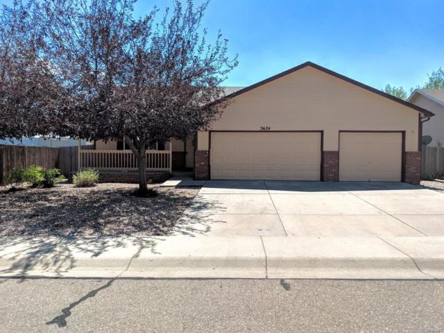 3624 Centennial Circle, Evans, CO 80620 (MLS #4525487) :: Kittle Real Estate