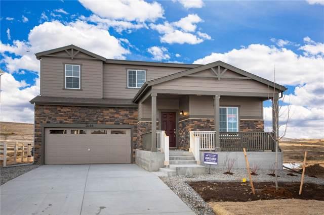 2103 Villageview Lane, Castle Rock, CO 80104 (#4529196) :: The Dixon Group