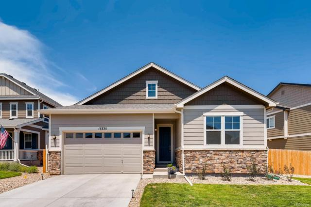 16335 E 101st Avenue, Commerce City, CO 80022 (#4530655) :: The Peak Properties Group