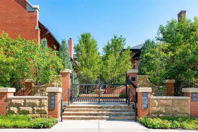 2411 E 5 Avenue #202, Denver, CO 80206 (#4534389) :: HomeSmart