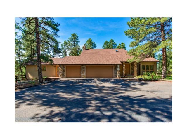 1261 Meadow Trail, Franktown, CO 80116 (MLS #4536092) :: 8z Real Estate