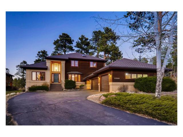 31505 Sandia Court, Evergreen, CO 80439 (MLS #4540809) :: 8z Real Estate