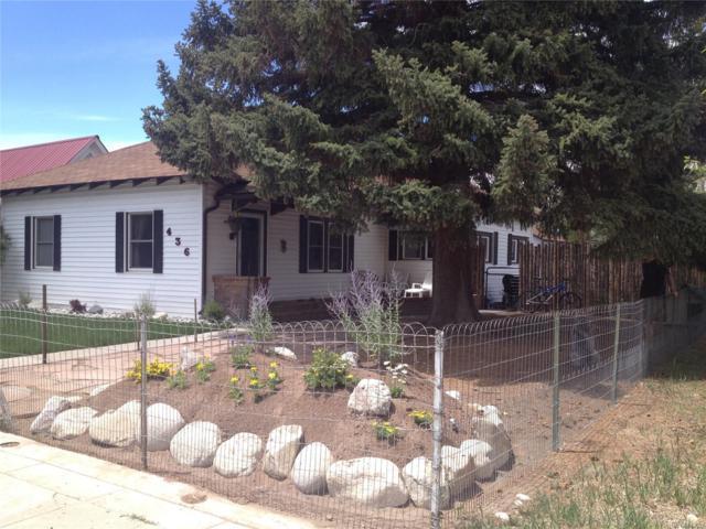 436 D Street, Salida, CO 81201 (#4542131) :: Bring Home Denver