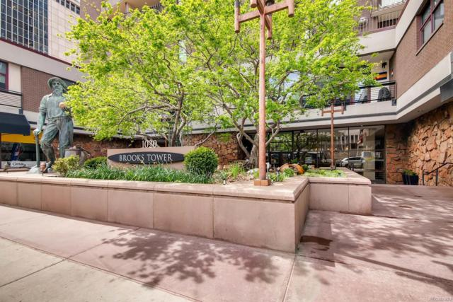 1020 15th Street 16F, Denver, CO 80202 (#4543194) :: The Griffith Home Team