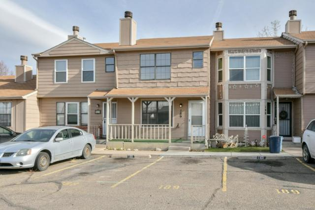 8144 Washington Street #189, Denver, CO 80229 (#4544577) :: The Heyl Group at Keller Williams