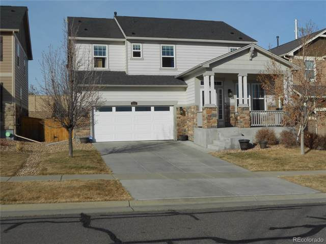 5583 S Elk Court, Aurora, CO 80016 (#4546670) :: The Griffith Home Team