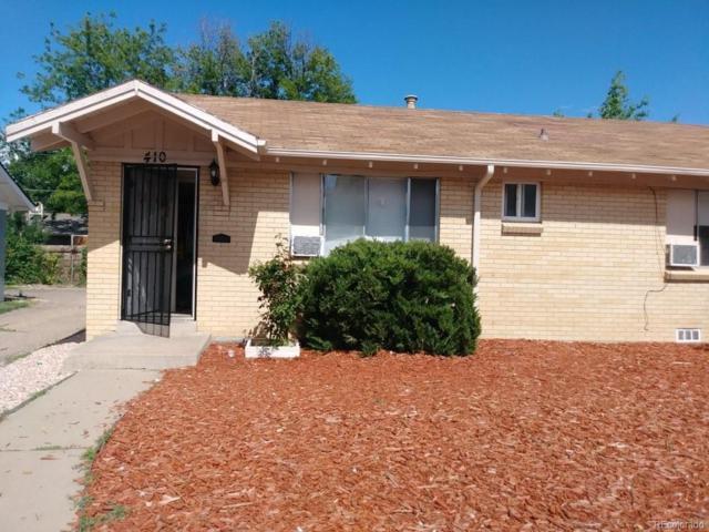 408 Dayton Street, Aurora, CO 80010 (#4547679) :: The Peak Properties Group