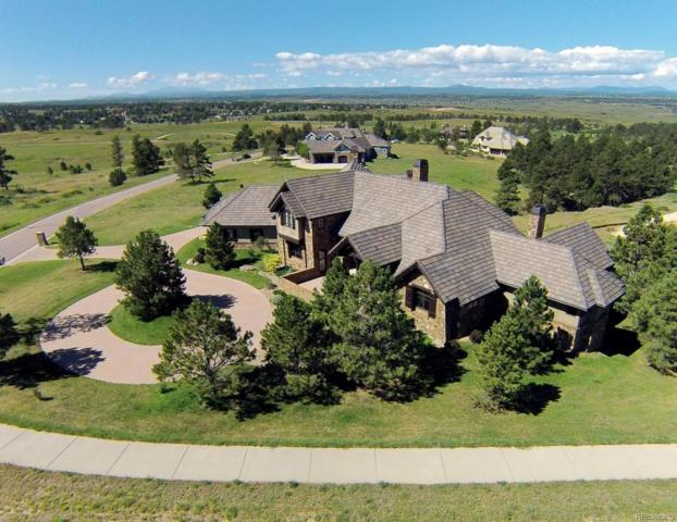 8575 Witez Court, Parker, CO 80134 (#4552219) :: The Dixon Group