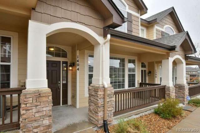 1404 Turnberry Place, Castle Rock, CO 80104 (#4552678) :: The Griffith Home Team