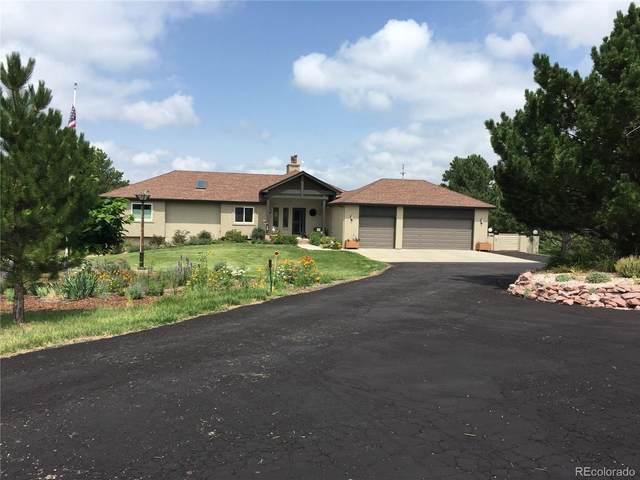 971 N White Tail Drive, Franktown, CO 80116 (#4555369) :: Wisdom Real Estate