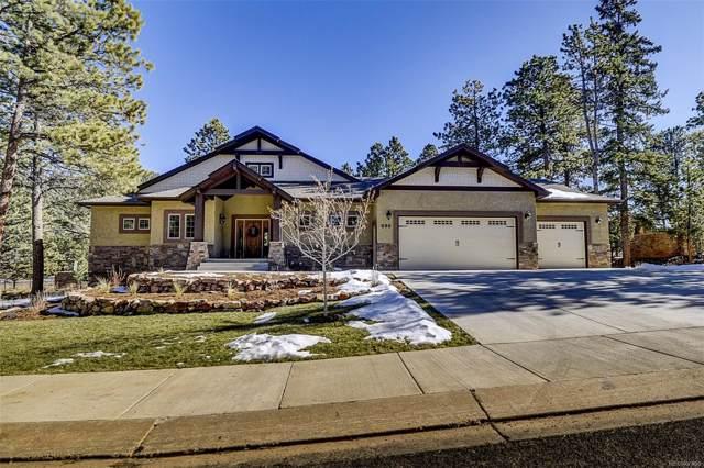 680 Chipmunk Drive, Woodland Park, CO 80863 (MLS #4559418) :: Kittle Real Estate