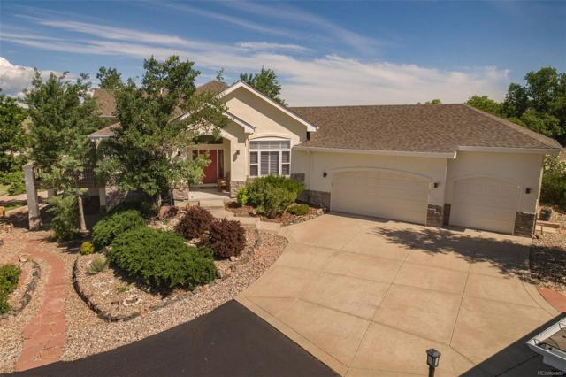 3588 Bell Mountain Drive, Castle Rock, CO 80104 (MLS #4560110) :: Kittle Real Estate