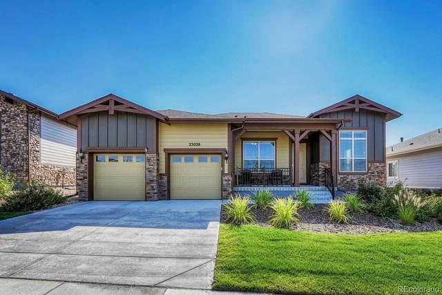 23020 E Del Norte Circle, Aurora, CO 80016 (#4572656) :: The HomeSmiths Team - Keller Williams