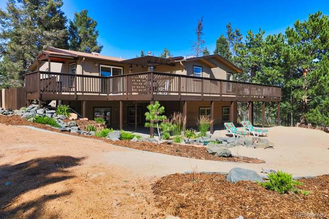 403 Pioneer Creek Drive, Florissant, CO 80816 (#4576216) :: The Griffith Home Team
