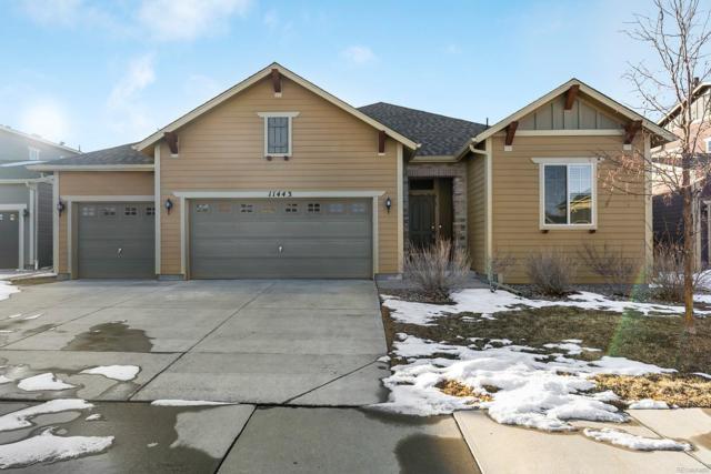 11443 Lovage Way, Parker, CO 80134 (MLS #4578049) :: 8z Real Estate
