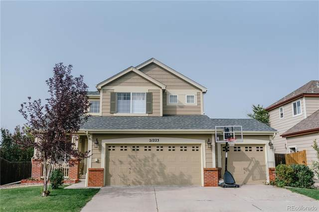 21223 Snowshoe Lane, Parker, CO 80138 (#4582701) :: Kimberly Austin Properties
