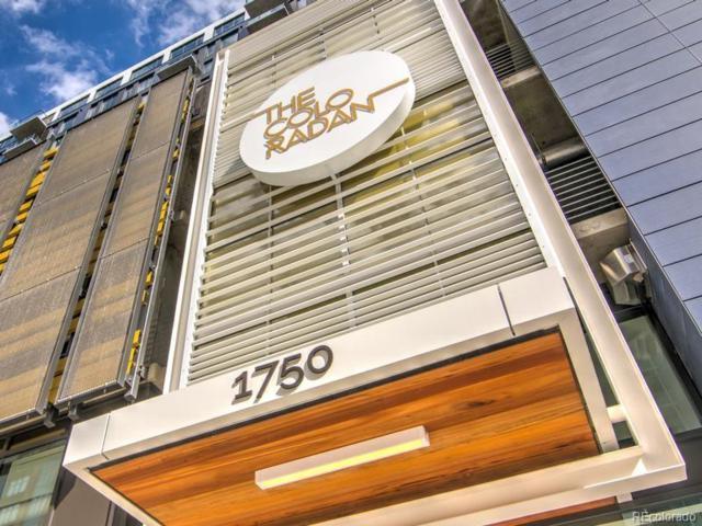 1750 Wewatta Street #901, Denver, CO 80202 (#4586925) :: The DeGrood Team