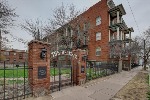 1356 Pearl Street #309, Denver, CO 80203 (#4587263) :: The Peak Properties Group