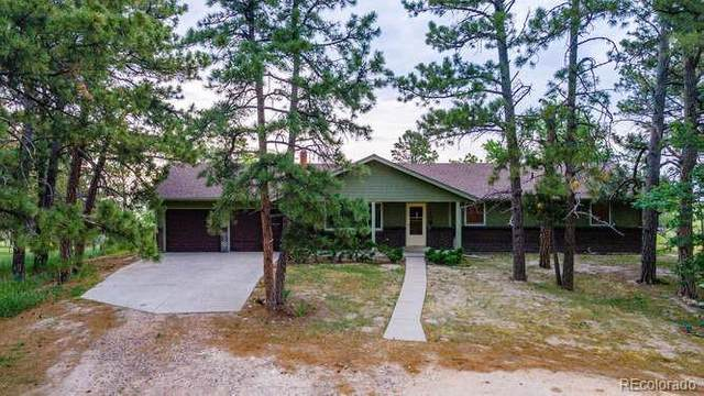 32220 Pine View Drive, Kiowa, CO 80117 (MLS #4587629) :: Find Colorado Real Estate