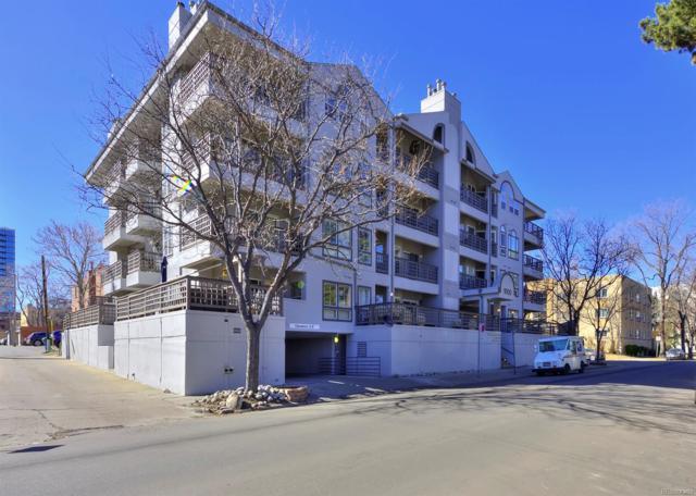 1000 E 1st Avenue #407, Denver, CO 80218 (#4591092) :: The Pete Cook Home Group