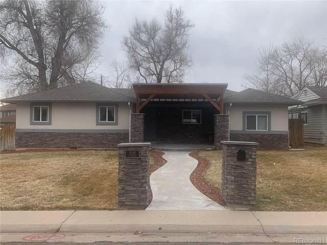 1595 S Garfield Street, Denver, CO 80210 (#4592278) :: The Griffith Home Team