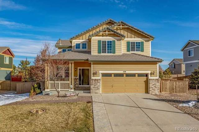 570 Springvale Road, Castle Rock, CO 80104 (#4598441) :: The Peak Properties Group