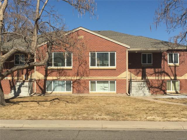 5505 E 36th Avenue, Denver, CO 80207 (#4598530) :: The Peak Properties Group