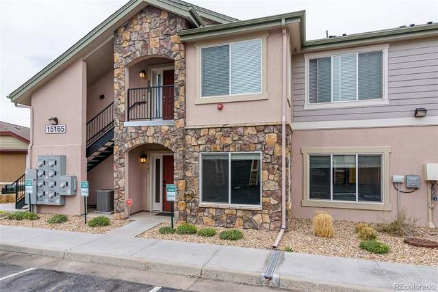 15165 E 16th Place #103, Aurora, CO 80011 (#4605700) :: Mile High Luxury Real Estate