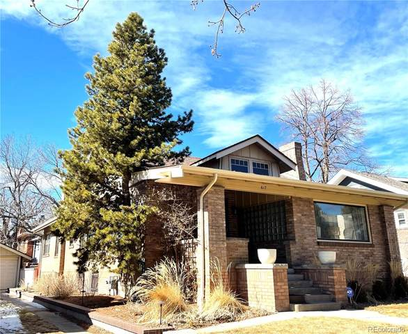 617 York Street, Denver, CO 80206 (#4609726) :: James Crocker Team