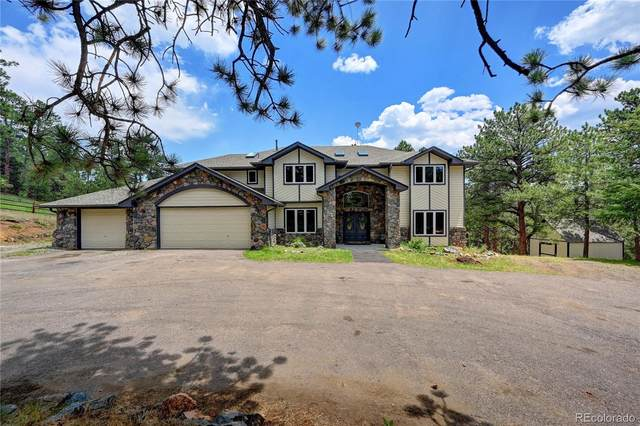 332 Quarter Circle Lane, Evergreen, CO 80439 (#4616992) :: The HomeSmiths Team - Keller Williams