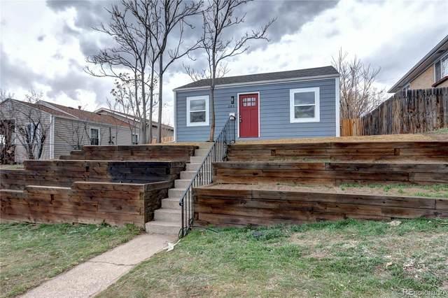 285 Raleigh Street, Denver, CO 80219 (MLS #4620194) :: Kittle Real Estate
